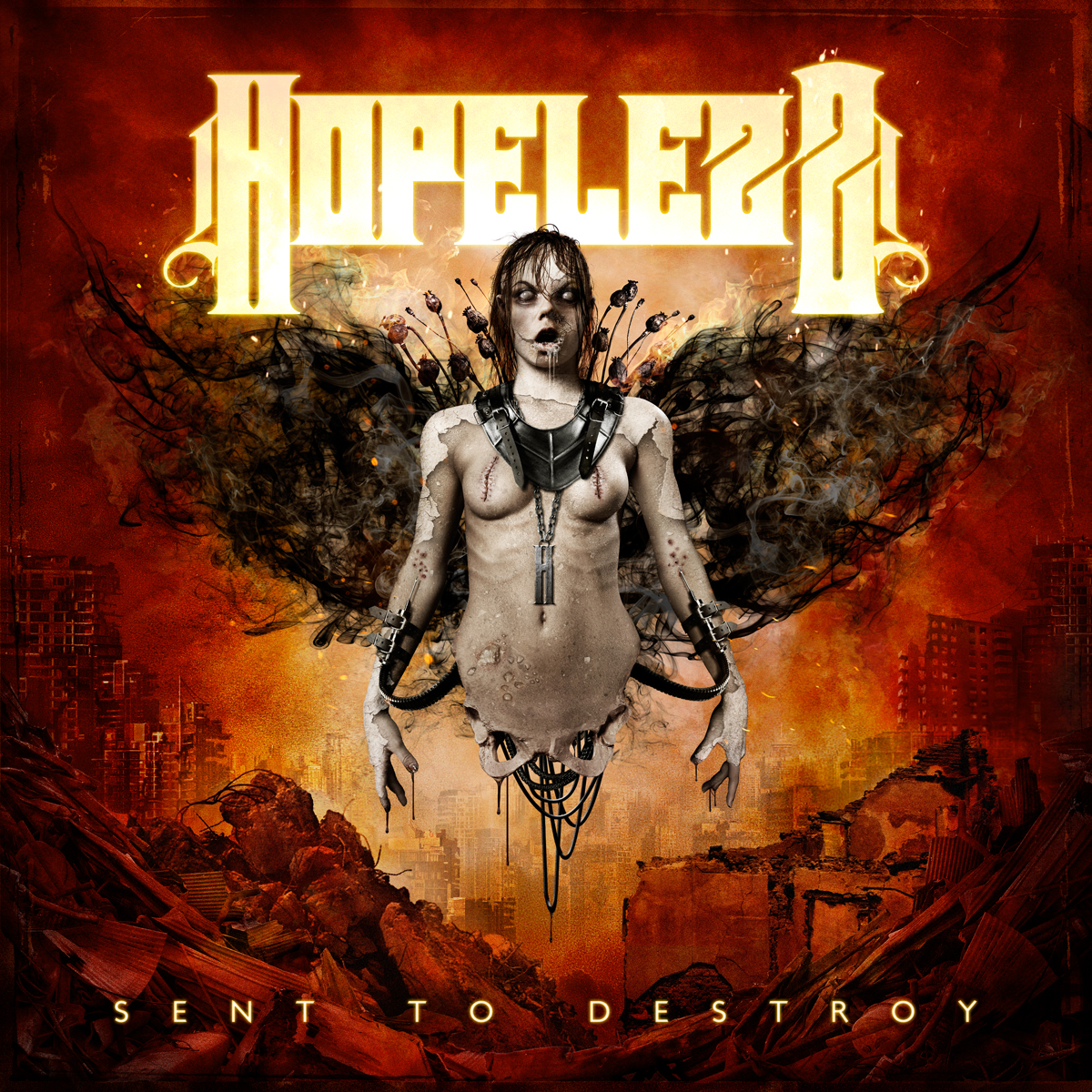 Hopelezz Sent To Destroy CD, Hopelezz - Sent To Destroy,album player, Hopelezz Sent To Destroy (CD),